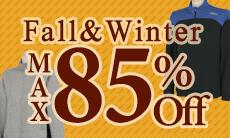 最大85%OFF!秋冬激安ウェア