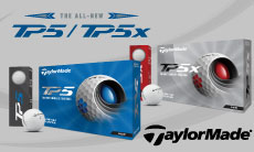 テーラーメイド最新モデル「TP5/TP5x」ボールシリーズが発売!特集ページはこちら