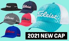 「タイトリスト」2021年春夏モデルのキャップが好評販売中!