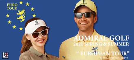アドミラル2021年モデル新作春夏ゴルフウェア入荷しました!