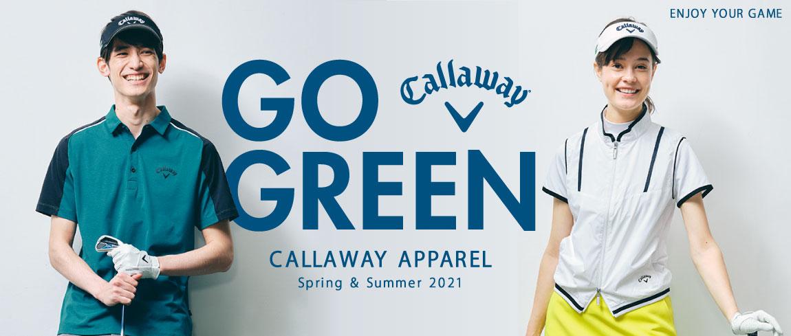 キャロウェイ2021年モデル新作春夏ウェア入荷しました!