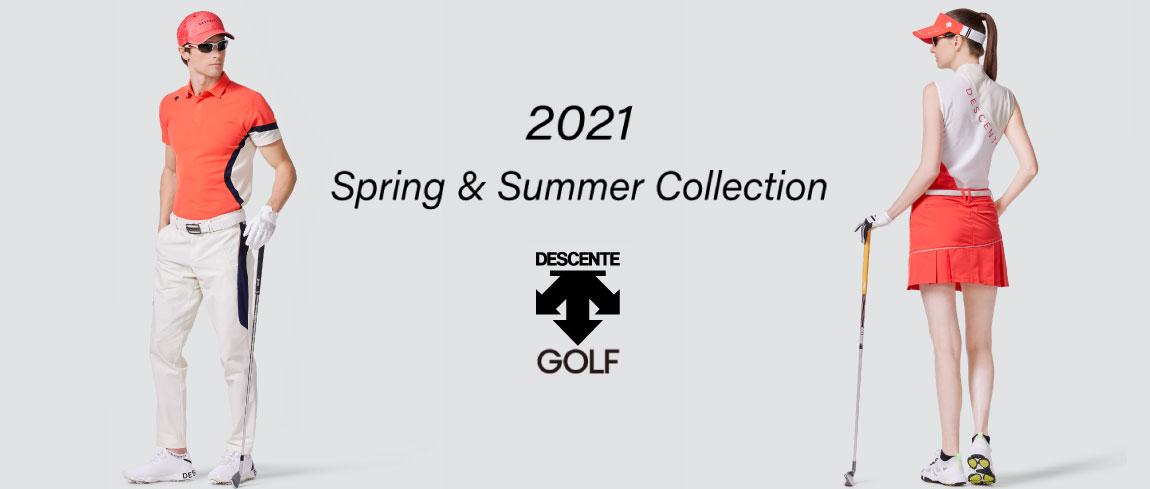 デサントゴルフ2021年モデル新作春夏ウェア入荷しました!