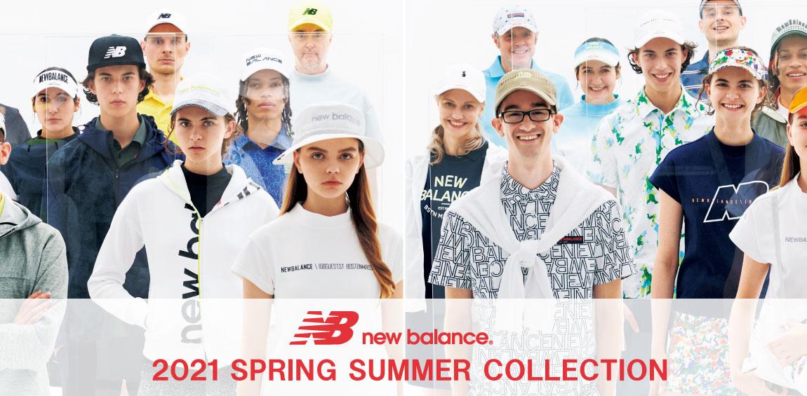 ニューバランスゴルフ2021年モデル新作春夏ゴルフウェア入荷しました!