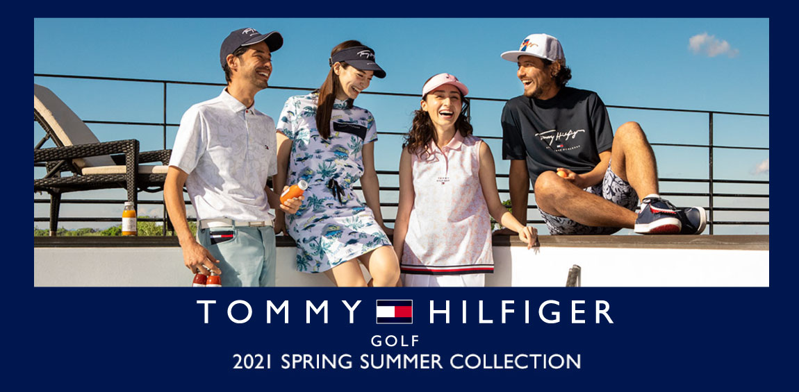 トミーヒルフィガーゴルフ2021年モデル新作春夏ゴルフウェア入荷しました!
