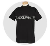 ブラック&ホワイト(BLACK & WHITE) メンズゴルフウェア