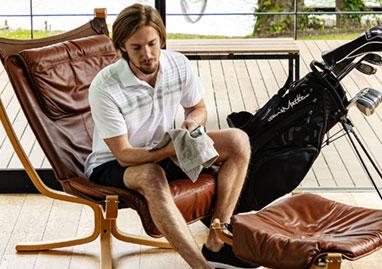 トラヴィスマシュー Travis Mathew メンズ ロゴ刺繍 ランダムボーダー柄 半袖 ポロシャツ 7AD013 2021年モデル