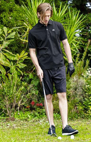 トラヴィスマシュー Travis Mathew メンズ ロゴ刺繍 鹿の子 半袖 ポロシャツ 7AD011 2021年モデル