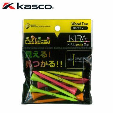 キャスコ KIRA キラ スマイル ウッド ティー ロング 70mm(10本入り)