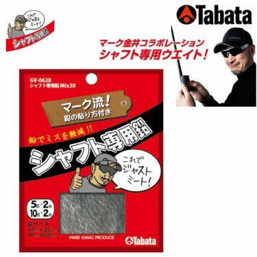 タバタ Tabata シャフト専用鉛 Mix30 GV-0628