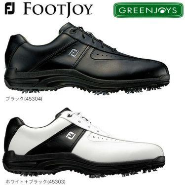 フットジョイ FootJoy GREENJOYS グリーンジョイズ ソフトスパイク ゴルフシューズ
