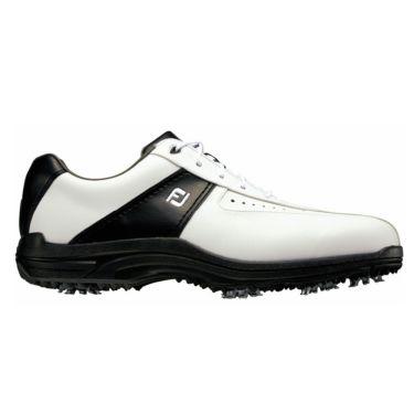 フットジョイ FootJoy GREENJOYS グリーンジョイズ ソフトスパイク ゴルフシューズ ホワイト+ブラック 45303