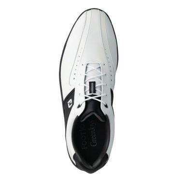 フットジョイ FootJoy GREENJOYS グリーンジョイズ ソフトスパイク ゴルフシューズ ホワイト+ブラック 45303 詳細1