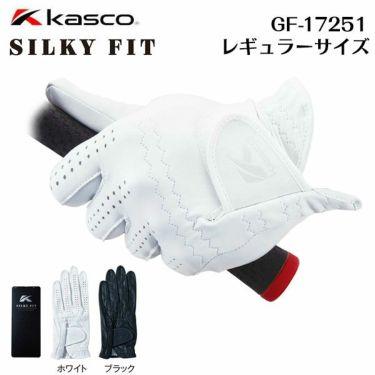 キャスコ メンズ SILKY FIT シルキーフィット ゴルフグローブ GF-17251