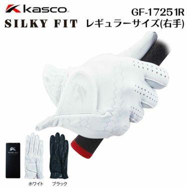 キャスコ メンズ SILKY FIT シルキーフィット 右手用 ゴルフグローブ GF-17251R