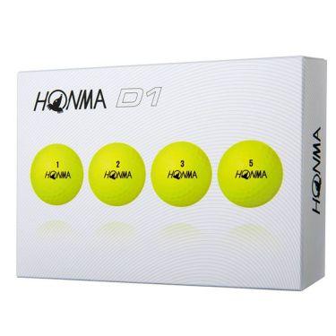 本間ゴルフ D1 ゴルフボール 2019年モデル 1ダース(12球入り) 商品詳細3