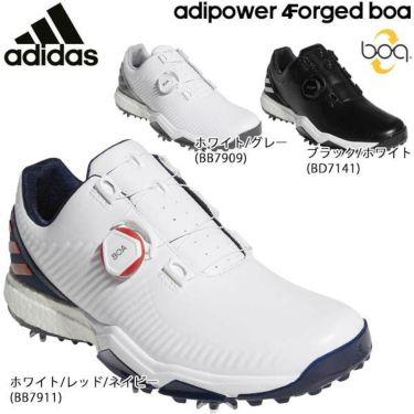 アディダス adidas メンズ adipower 4ORGED Boa アディパワー フォージド ボア ソフトスパイク ゴルフシューズ 2019年モデル