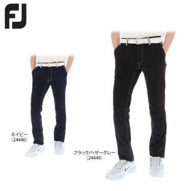 フットジョイ FootJoy メンズ ストレッチ ノータック ロングパンツ FJ-S17-P57 [裾上げ対応1]