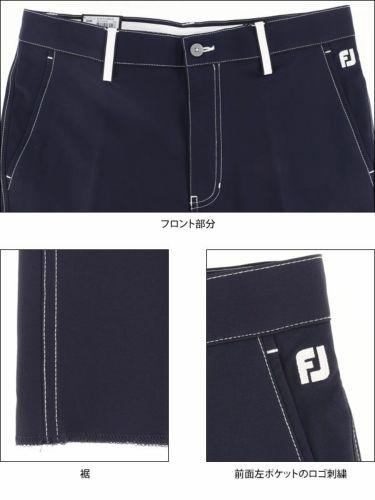 フットジョイ FootJoy メンズ ストレッチ ノータック ロングパンツ FJ-S17-P57 [裾上げ対応1] 商品詳細7