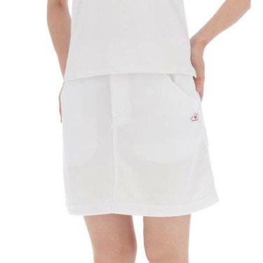 ニューバランスゴルフ レディース ダンボールニット 刺繍 ペチパンツ付き スカート 012-9134510 2019年モデル 商品詳細3