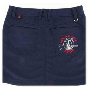 ニューバランスゴルフ レディース ダンボールニット 刺繍 ペチパンツ付き スカート 012-9134510 2019年モデル 商品詳細9