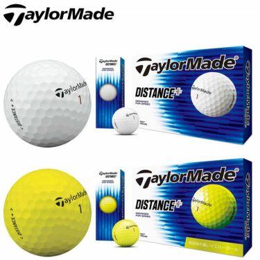 テーラーメイド DISTANCE+ ディスタンス プラス ゴルフボール 1ダース(12球入り)