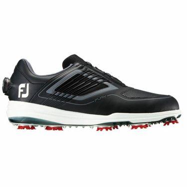 フットジョイ FURY Boa フーリー ボア メンズ ソフトスパイク ゴルフシューズ ブラック+レッド 51110 2019年モデル