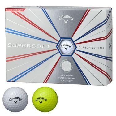 キャロウェイ SUPER SOFT スーパーソフト 2019年モデル ゴルフボール 1ダース(12球入り)