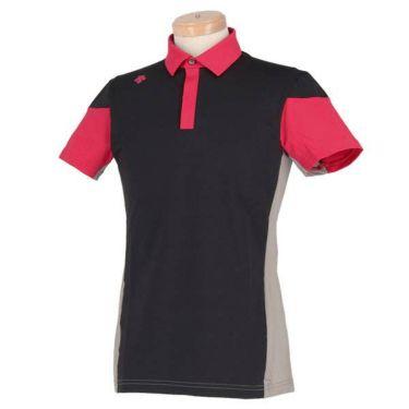 デサントゴルフ DESCENTE GOLF メンズ 配色切替 半袖 ポロシャツ DGMNJA01 2019年モデル 商品詳細2