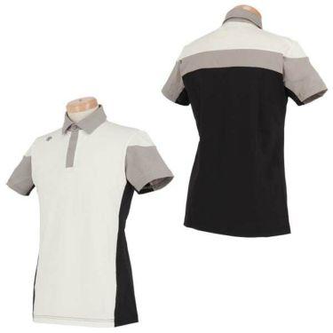 デサントゴルフ DESCENTE GOLF メンズ 配色切替 半袖 ポロシャツ DGMNJA01 2019年モデル 商品詳細5