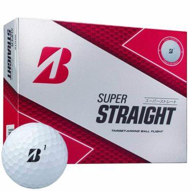 ブリヂストン SUPER STRAIGHT スーパーストレート ゴルフボール 2019年モデル 1ダース(12球入り) 商品詳細2