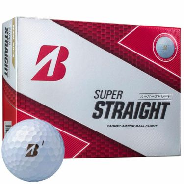 ブリヂストン SUPER STRAIGHT スーパーストレート ゴルフボール 2019年モデル 1ダース(12球入り) 商品詳細3