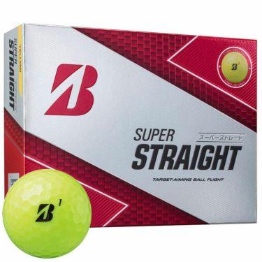 ブリヂストン SUPER STRAIGHT スーパーストレート ゴルフボール 2019年モデル 1ダース(12球入り) 商品詳細4