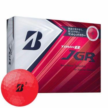ブリヂストン TOUR B JGR マットレッドエディション ゴルフボール 2019年モデル 1ダース(12球入り) 商品詳細2