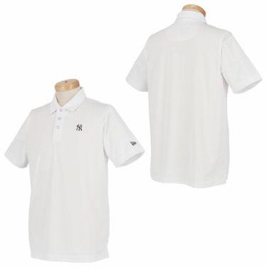 ニューエラ NEW ERA メンズ 鹿の子 ニューヨーク・ヤンキース ロゴ刺繍 半袖 ポロシャツ 2019年モデル 商品詳細6