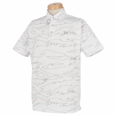 ニューエラ NEW ERA メンズ タイガーストライプライン カモ柄 半袖 ボタンダウン ポロシャツ 2019年モデル 商品詳細2