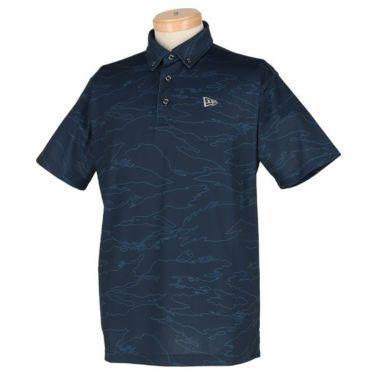 ニューエラ NEW ERA メンズ タイガーストライプライン カモ柄 半袖 ボタンダウン ポロシャツ 2019年モデル 商品詳細3