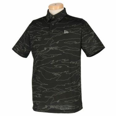 ニューエラ NEW ERA メンズ タイガーストライプライン カモ柄 半袖 ボタンダウン ポロシャツ 2019年モデル 商品詳細4