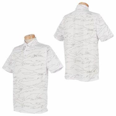 ニューエラ NEW ERA メンズ タイガーストライプライン カモ柄 半袖 ボタンダウン ポロシャツ 2019年モデル 商品詳細6