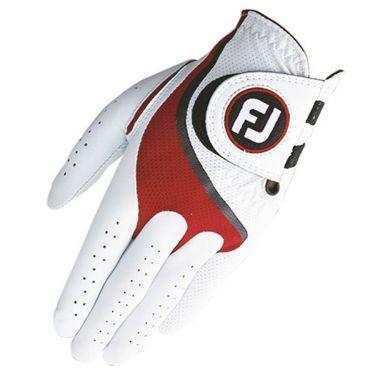 フットジョイ FootJoy メンズ ProFLX プロフレックス ゴルフグローブ FGPF ホワイト/レッド