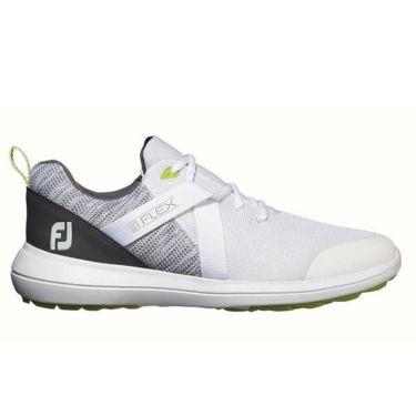 フットジョイ FootJoy メンズ FLEX フレックス スパイクレス ゴルフシューズ ホワイト 56101 商品詳細2