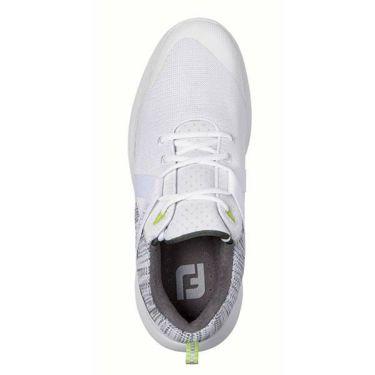 フットジョイ FootJoy メンズ FLEX フレックス スパイクレス ゴルフシューズ ホワイト 56101 商品詳細3