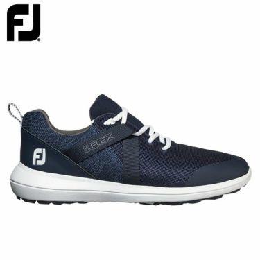フットジョイ FootJoy メンズ FLEX フレックス スパイクレス ゴルフシューズ ネイビー 56102