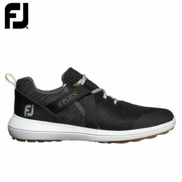 フットジョイ FootJoy メンズ FLEX フレックス スパイクレス ゴルフシューズ ブラック 56103
