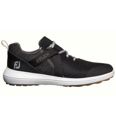 フットジョイ FootJoy メンズ FLEX フレックス スパイクレス ゴルフシューズ ブラック 56103 商品詳細2