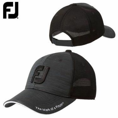 フットジョイ FootJoy メンズ トラッカー キャップ FJHW1903BK
