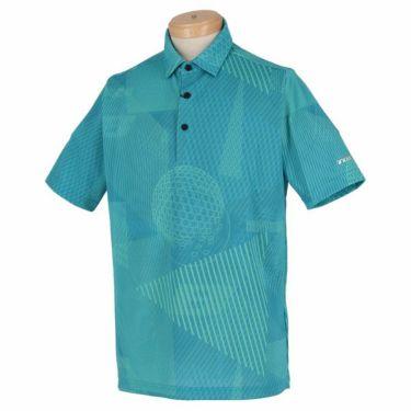 ブリヂストンゴルフ TOUR B メンズ 幾何学模様 総柄プリント 半袖 ポロシャツ NGMN1A 2019年モデル 商品詳細2