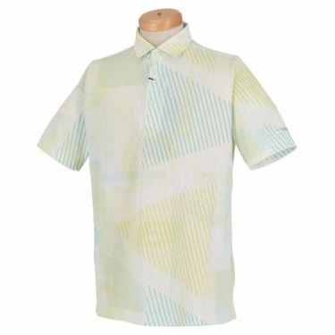 ブリヂストンゴルフ TOUR B メンズ 幾何学模様 総柄プリント 半袖 ポロシャツ NGMN1A 2019年モデル 商品詳細3