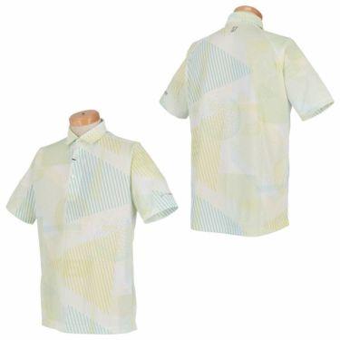 ブリヂストンゴルフ TOUR B メンズ 幾何学模様 総柄プリント 半袖 ポロシャツ NGMN1A 2019年モデル 商品詳細5