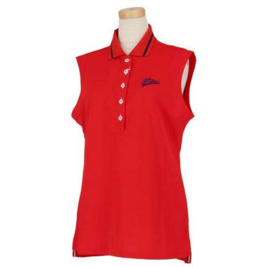 フィラ FILA レディース プレミアム鹿の子 ノースリーブ ポロシャツ 759-604 2019年モデル 商品詳細4