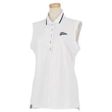 フィラ FILA レディース プレミアム鹿の子 ノースリーブ ポロシャツ 759-604 2019年モデル 商品詳細5